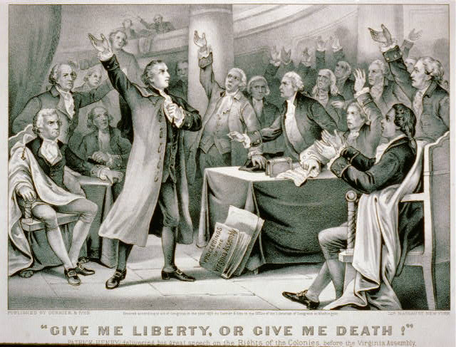 Death or Liberty - Patrick Henry