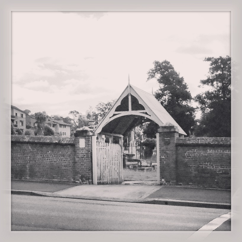The St. John's Cemetery lychgate. Photo: Michaela Ann Cameron (2013)