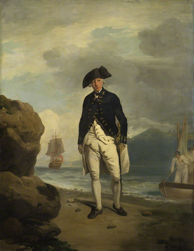 NPG 1462; Arthur Phillip by Francis Wheatley