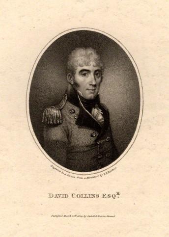 NPG D2097; David Collins by Anthony Cardon, after  John Thomas Barber Beaumont (John Thomas Barber)
