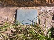 Thomas Eccles's First Fleeter memorial plaque. Photo: Michaela Ann Cameron (2016)
