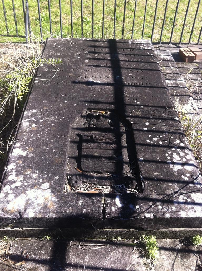 St John's Cemetery Parramatta, Palmer, John Palmer, Christopher Palmer, First Fleet, St John's Cemetery Project