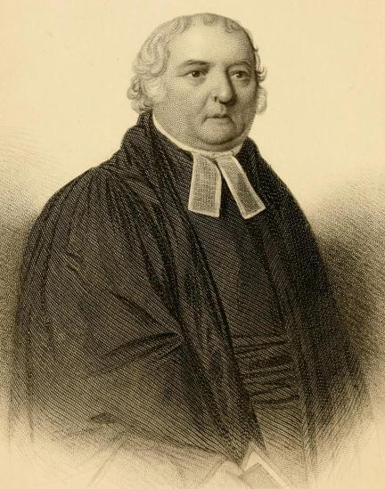 The Reverend Samuel Marsden, Chief Cleric of the Colony. Frontispiece of John Buxton Marsden and James Drummond (ed.), Life and Work of Samuel Marsden, (Artist not credited). CC BY-SA 3.0.