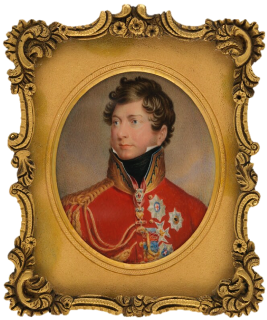 King George IV by Johann Paul Georg Fischer