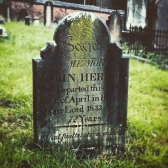 John Herbert's grave in Section 3 Row F No. 14 at St. John's Cemetery, Parramatta. Photo: Penny Edwell (2015)