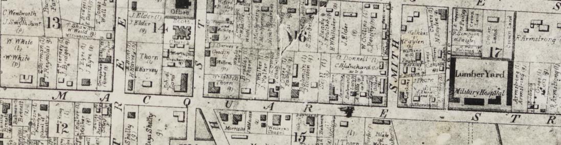 Brownrigg Map, 1844, Parramatta. Old Parramatta. Old Parramattan.
