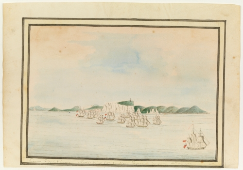 William Bradley, First Fleet, 13 May 1787, A Voyage to New South Wales.