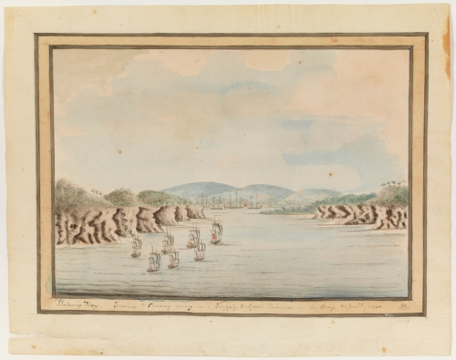 William Bradley, First Fleet, Botany Bay, 21 January 1788, A Voyage to New South Wales Journal