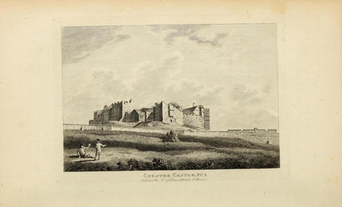 Chester Castle, 1784, Chester Gaol, eighteenth-century prison, First Fleet