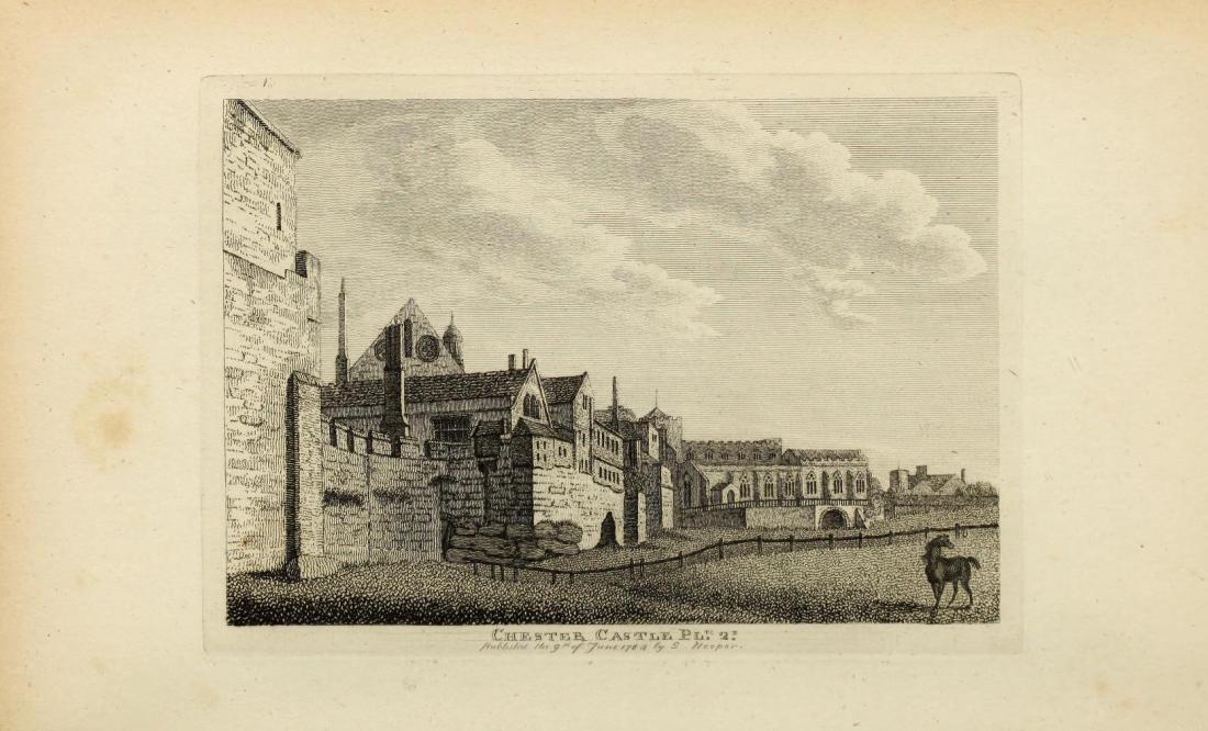 Chester Castle, Chester Gaol, England, 1784, eighteenth-century gaol, First Fleet