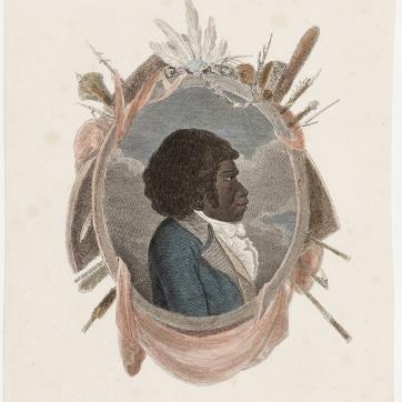 Bennelong, Woollarawarre Bennelong, Portrait, Bennilong, St. John's Cemetery Project, St. John's First Fleeters, Old Parramattans.