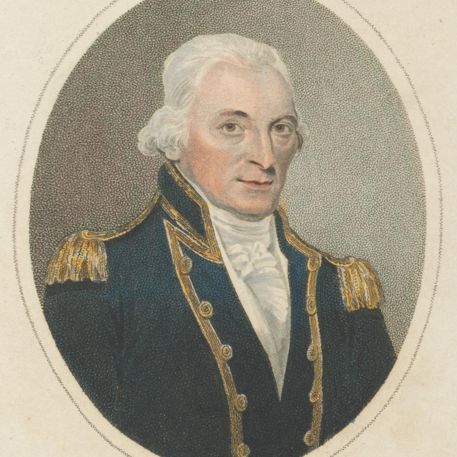 Captain John Hunter, Governor John Hunter, St. John's Cemetery Project, Old Parramattan, Parramatta