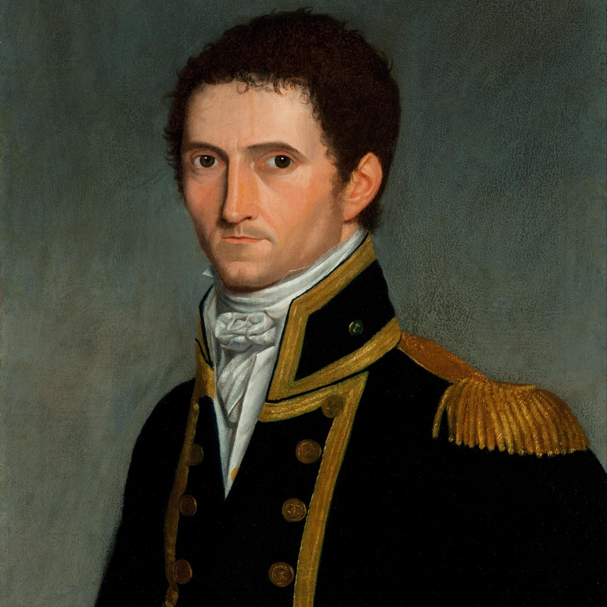 Antoine Toussaint de Chazal, Portrait of Captain Matthew Flinders, St. John's Cemetery Project, Old Parramattan, First Fleet, St. John's First Fleeters.