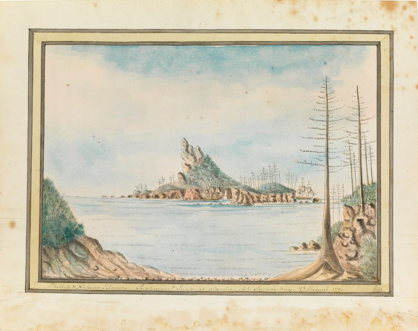 William Bradley, Phillip and Nepean Islands, Justinian, Surprize, Second Fleet, Norfolk Island, Sydney Bay, 1790, Catherine Crowley, D'Arcy Wentworth, William Charles Wentworth, St. John's Cemetery Project, Old Parramattans