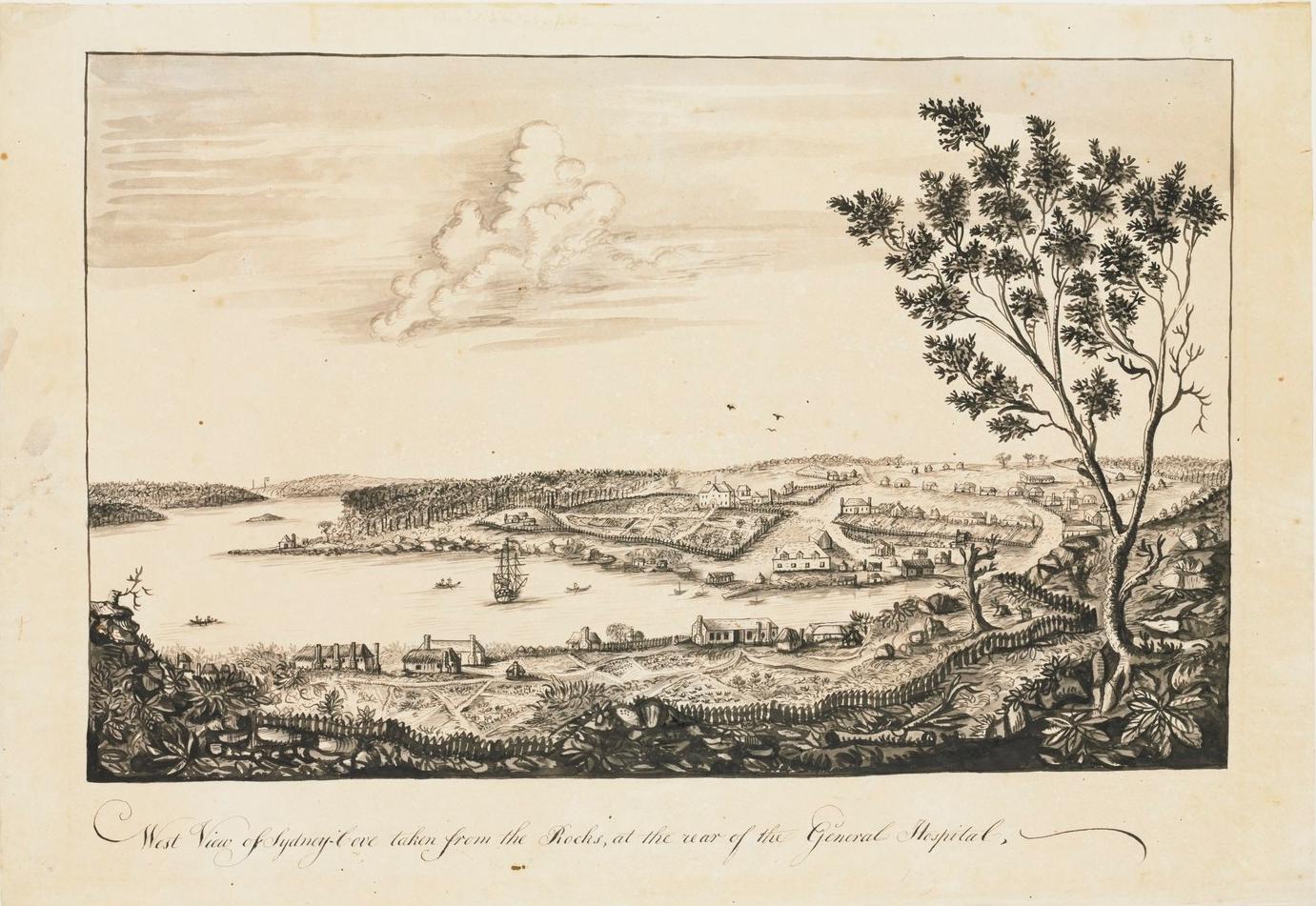 Sydney Cove, 1790, Second Fleet, Sydney, St. John's Cemetery Project, Old Parramattans