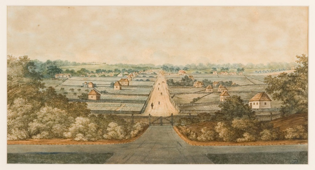 George William Evans, High Street, Parramatta, George Street, Government House, Old Government House, nineteenth century, 1800s, St. John's Cemetery Project, Catherine Crowley, D'Arcy Wentworth, Woodhouse, St. John's Cemetery Project, Old Parramattans