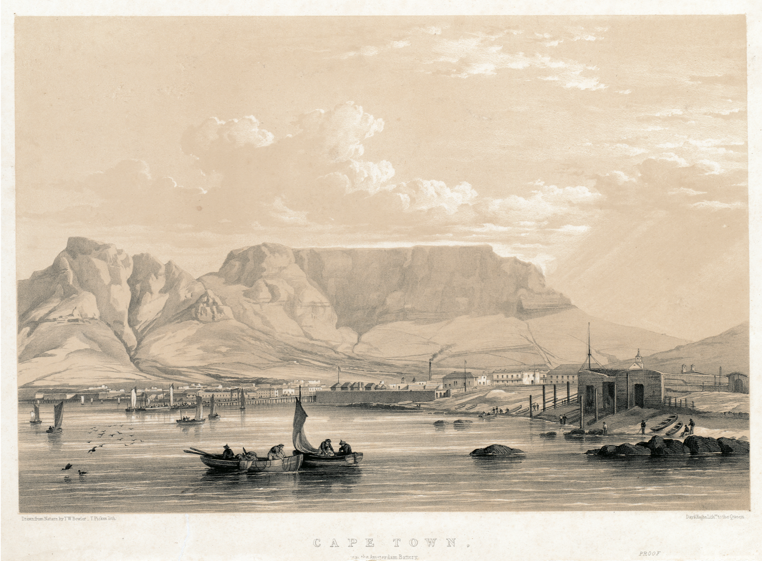 Cape Colony, Cape Town, Cape of Good Hope, South Africa, Amsterdam Battery