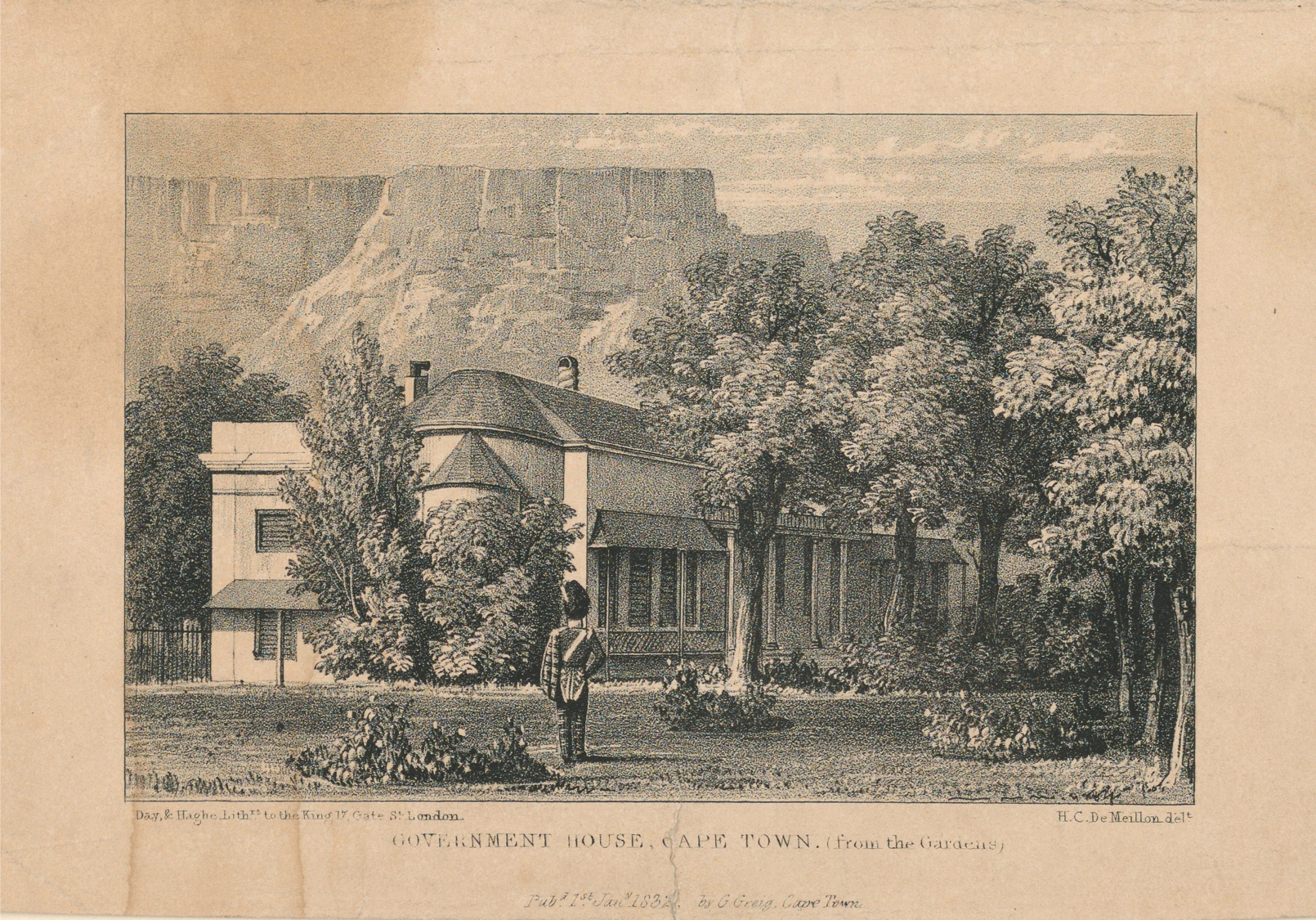 Government House, Cape Town, 1831, 1832, St. John's Cemetery Project, Old Parramattans, Elizabeth Bourke, Governor Richard Bourke, Governor of New South Wales