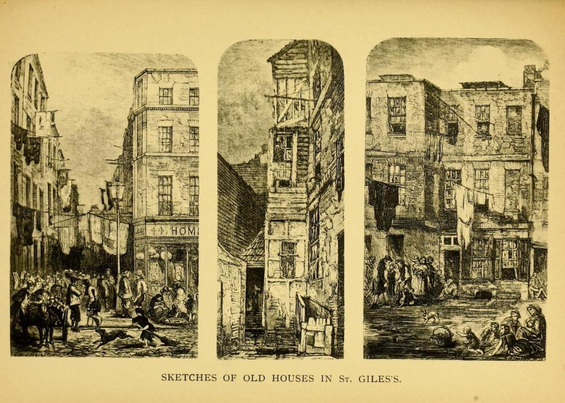 St. Giles, London, St. Giles's, The Rookery, Irish London, Little Dublin, St. John's Cemetery Project, London slums, Old Parramattans