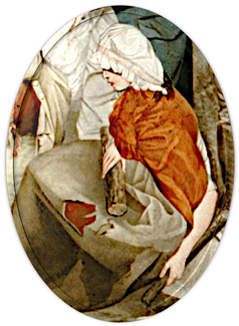 Convict woman, First Fleet, Thomas Gosse, The Founding of the Settlement at Port-Jackson at Botany Bay in New South Wales (1799), St. John's Cemetery Project, St. John's First Fleeters, Old Parramattans