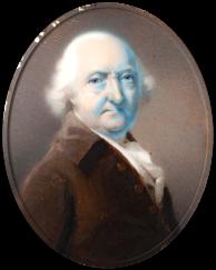 John Bourke, father of Elizabeth Bourke, St. John's Cemetery Project, Old Parramattans, Miniature, Portrait, Parramatta