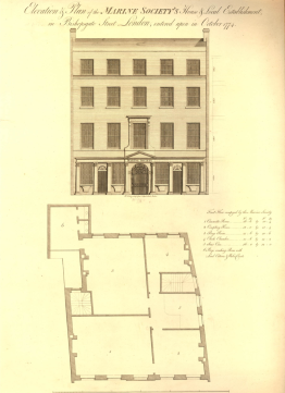 Marine Society, Marine Society Office, Bishopsgate Street, London, St. John's Cemetery Project, Old Parramattans, Benjamin Ratty, Convict Constable
