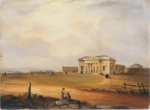 Criminal Court House, Darlinghurst, 1845, Supreme Court House, Sydney 1845, New South Wales, St. John's Cemetery Project, Old Parramattans, Keeper Thomas Bell, Matron Sarah Bell, Female Factory Online, G. E. Peacock