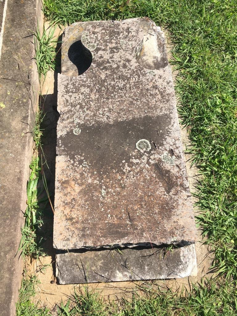 Thomas Daveney (II), Baby, Headstone, 1791, St. John's Cemetery, Parramatta, St. John's Cemetery Project, Old Parramattans, Tyrant of Toongabbie