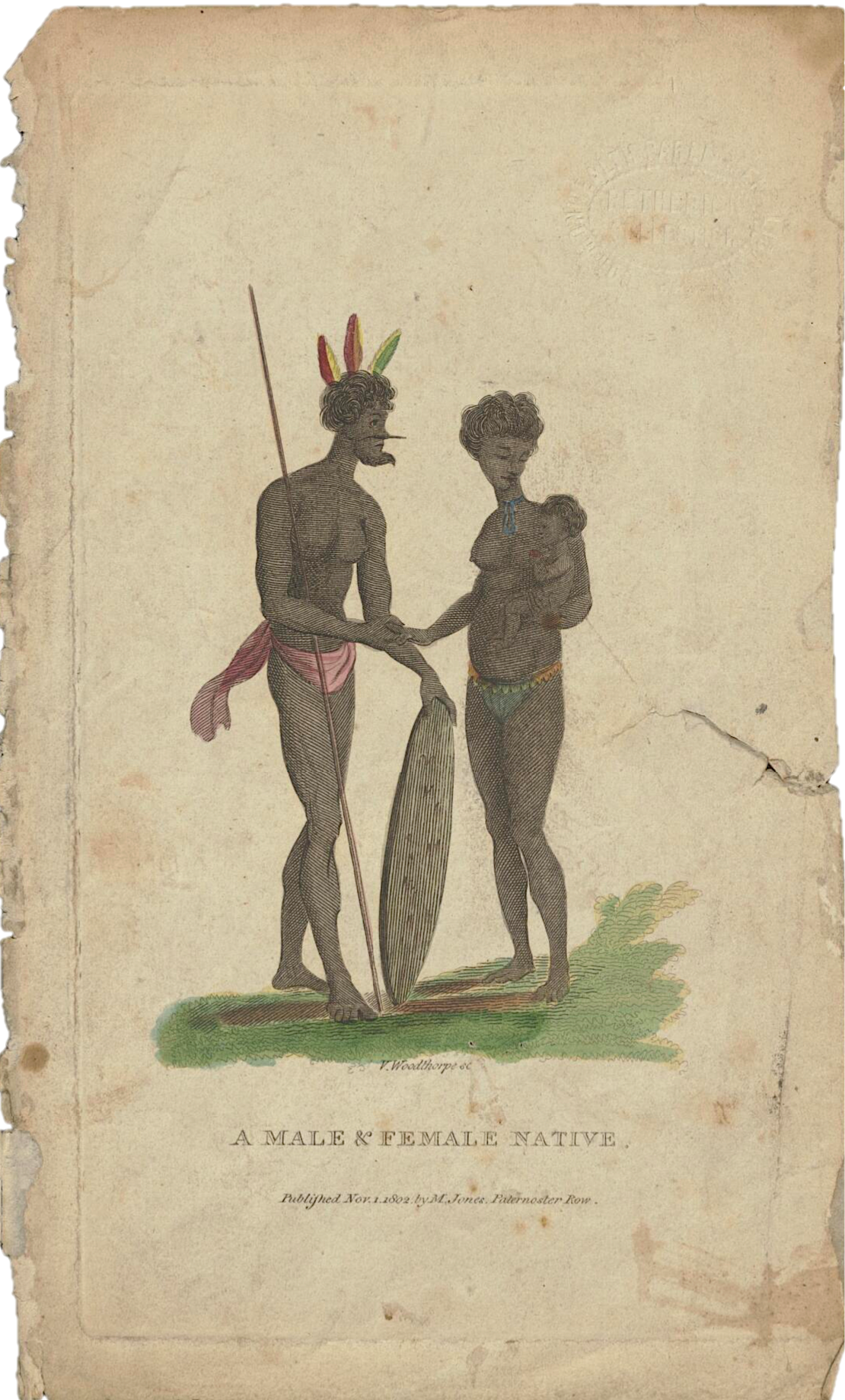 Vincent Woodthorpe, A Male and Female Native, History of New South Wales, Darug, St. John's Cemetery Project, Old Parramattans, Thomas Daveney, George Barrington, St. John's Cemetery, Parramatta, Tyrant of Toongabbie