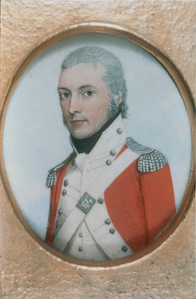 Captain Watkin Tench, Royal Marines, 1787, First Fleet, First Fleeter, Colony of New South Wales, St. John's Cemetery Project, Old Parramattans, St. John's Cemetery, Parramatta