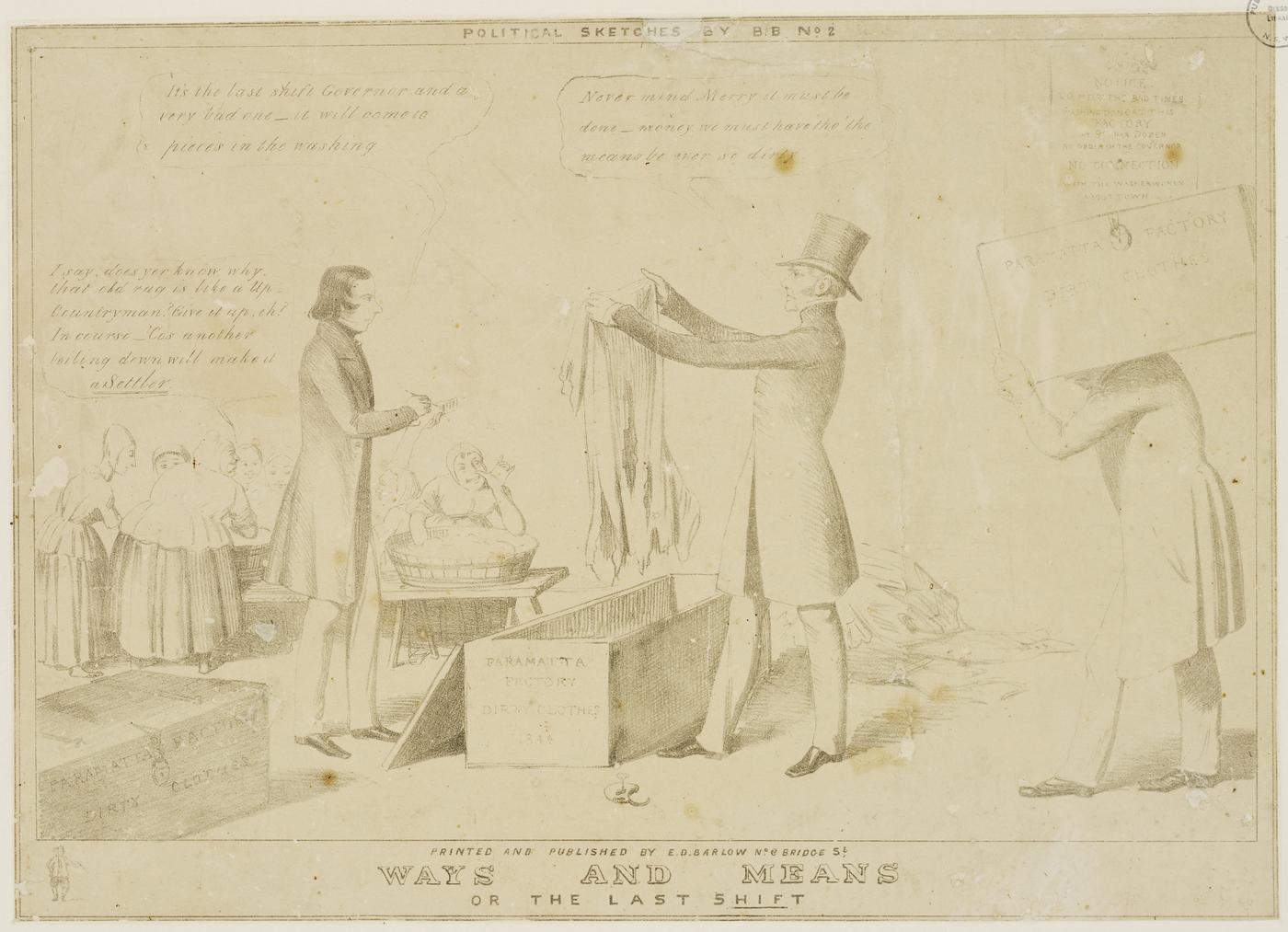 Parramatta Female Factory, c1844, Edward Winstanley,