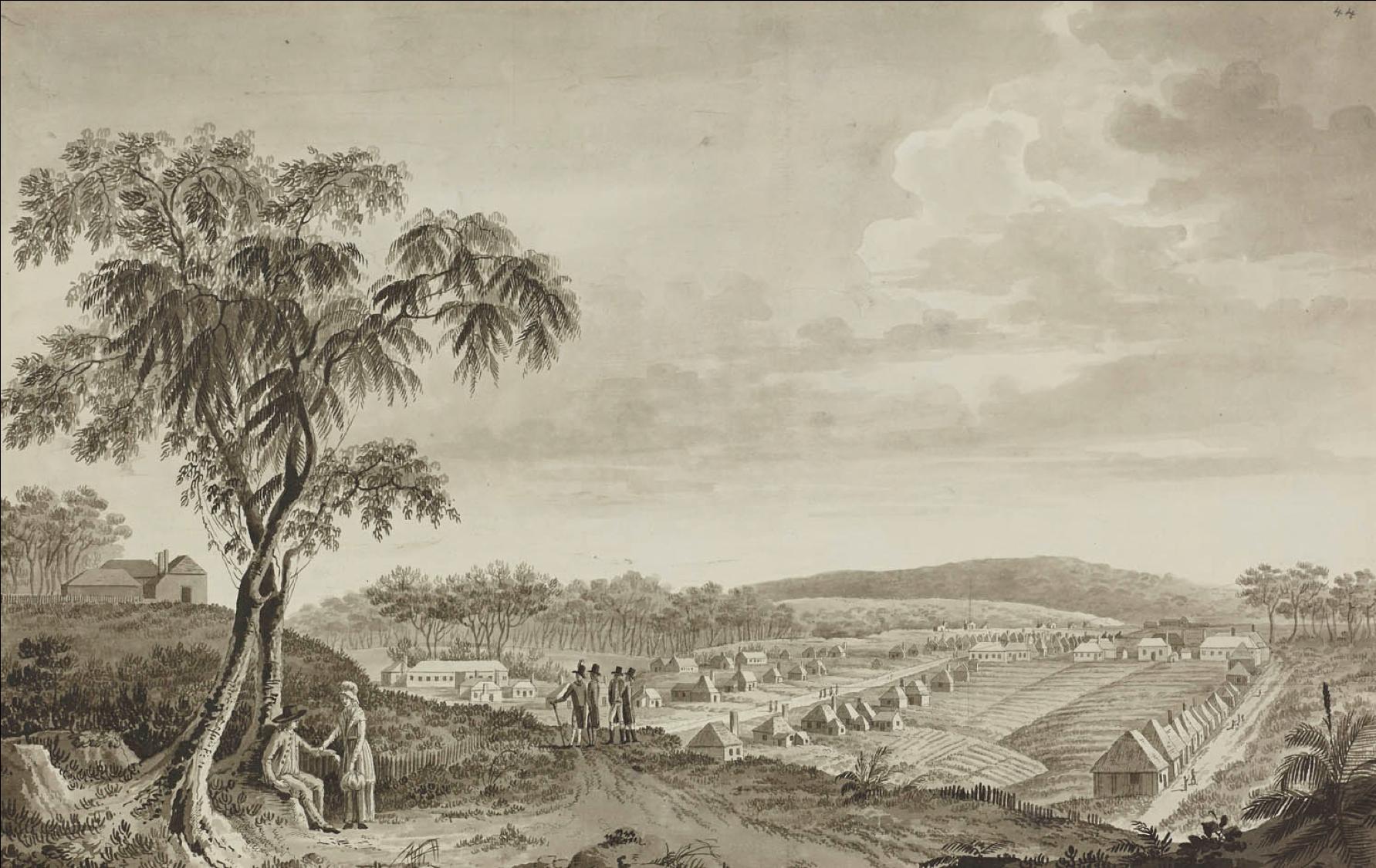 Fernando Brambila, Parramatta, April 1793, eighteenth-century Parramatta, eighteenth-century medicine, hospital, St. John's Cemetery Project, Old Parramattans, John Irving, Surgeon