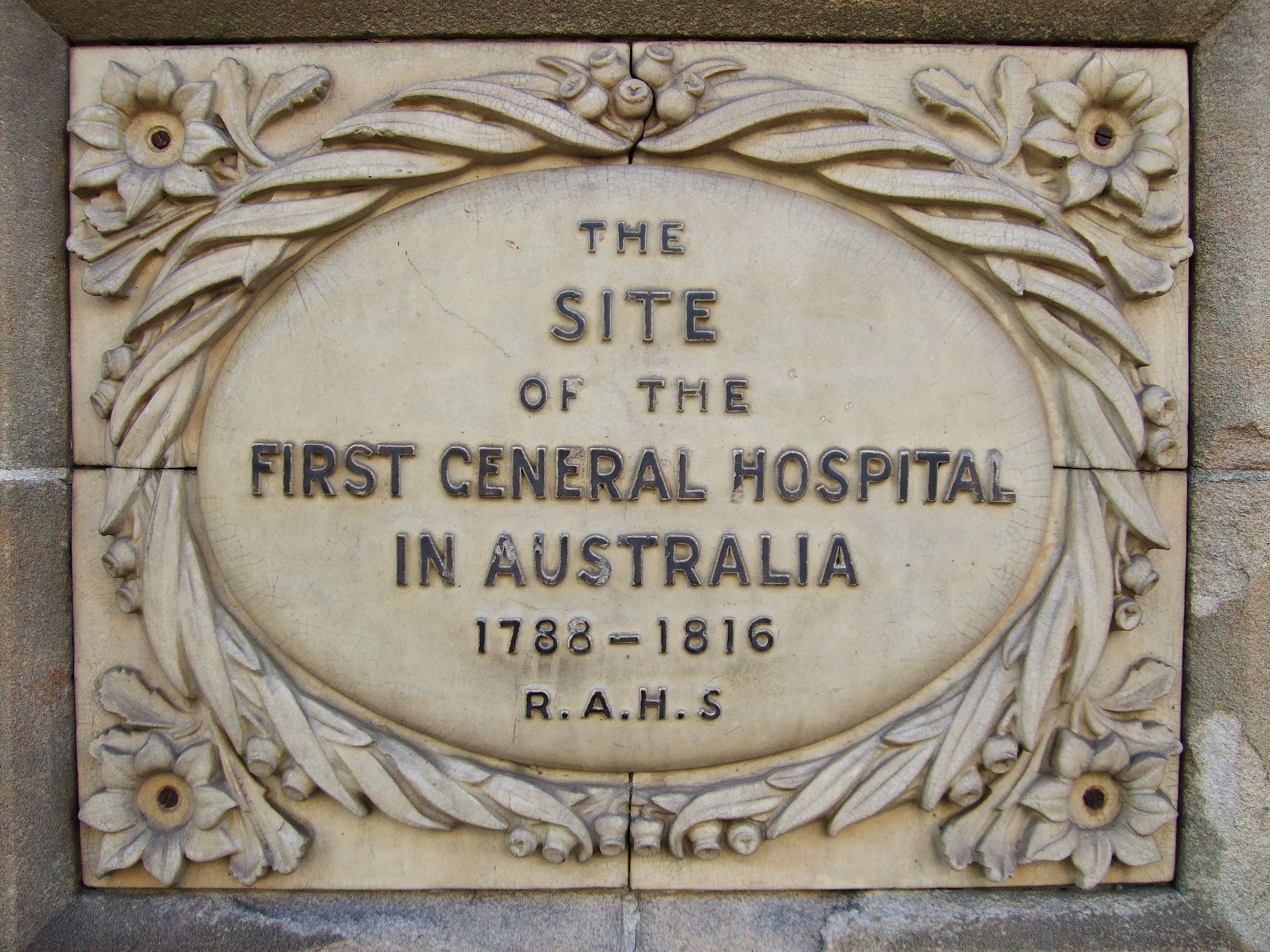 Sydney's First General Hospital, New South Wales, Australia, First Fleet, St. John's Cemetery Project, Old Parramattans, John Irving.