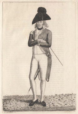Charles Lennox - 4th Duke of Richmond, after John Kay, 1789