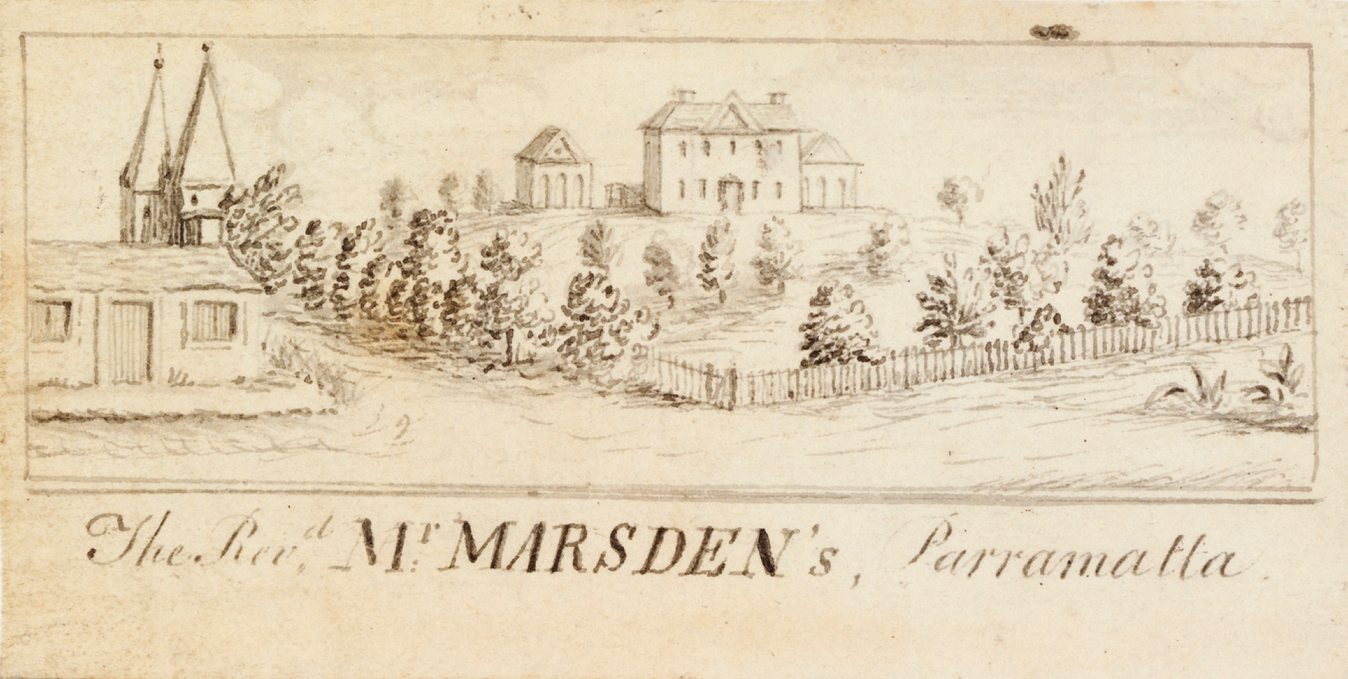 Reverend Samuel Marsden, Parramatta, Parsonage, St. John's Church, Old Parramattans, St. John's Cemetery, St. John's Cemetery Project