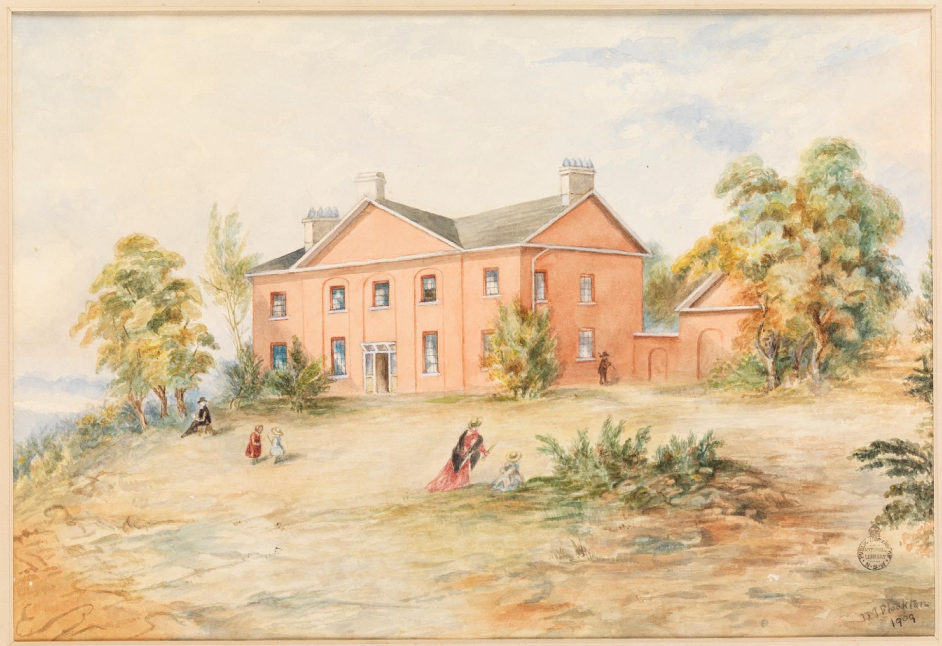 St. John's Parsonage, Parramatta, St. John's Rectory, The Cedars, Reverend Samuel Marsden, St. John's Cemetery Project, Old Parramattans, Francis Greenway