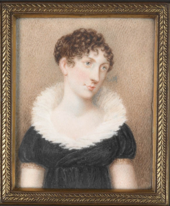 Elizabeth Macquarie, wife of Governor Lachlan Macquarie, portrait, miniature, Old Parramattans