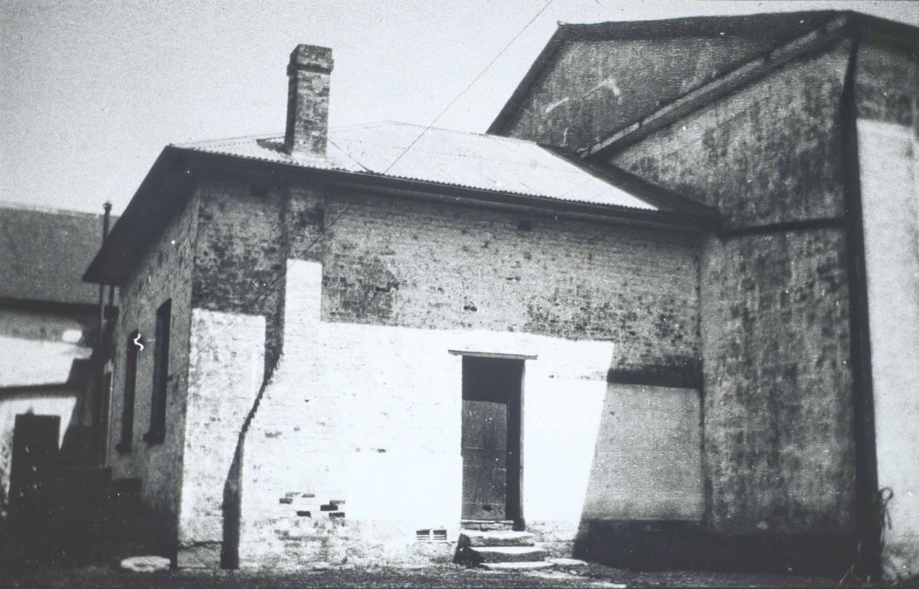First Wesleyan Chapel, Macquarie Street, Parramatta