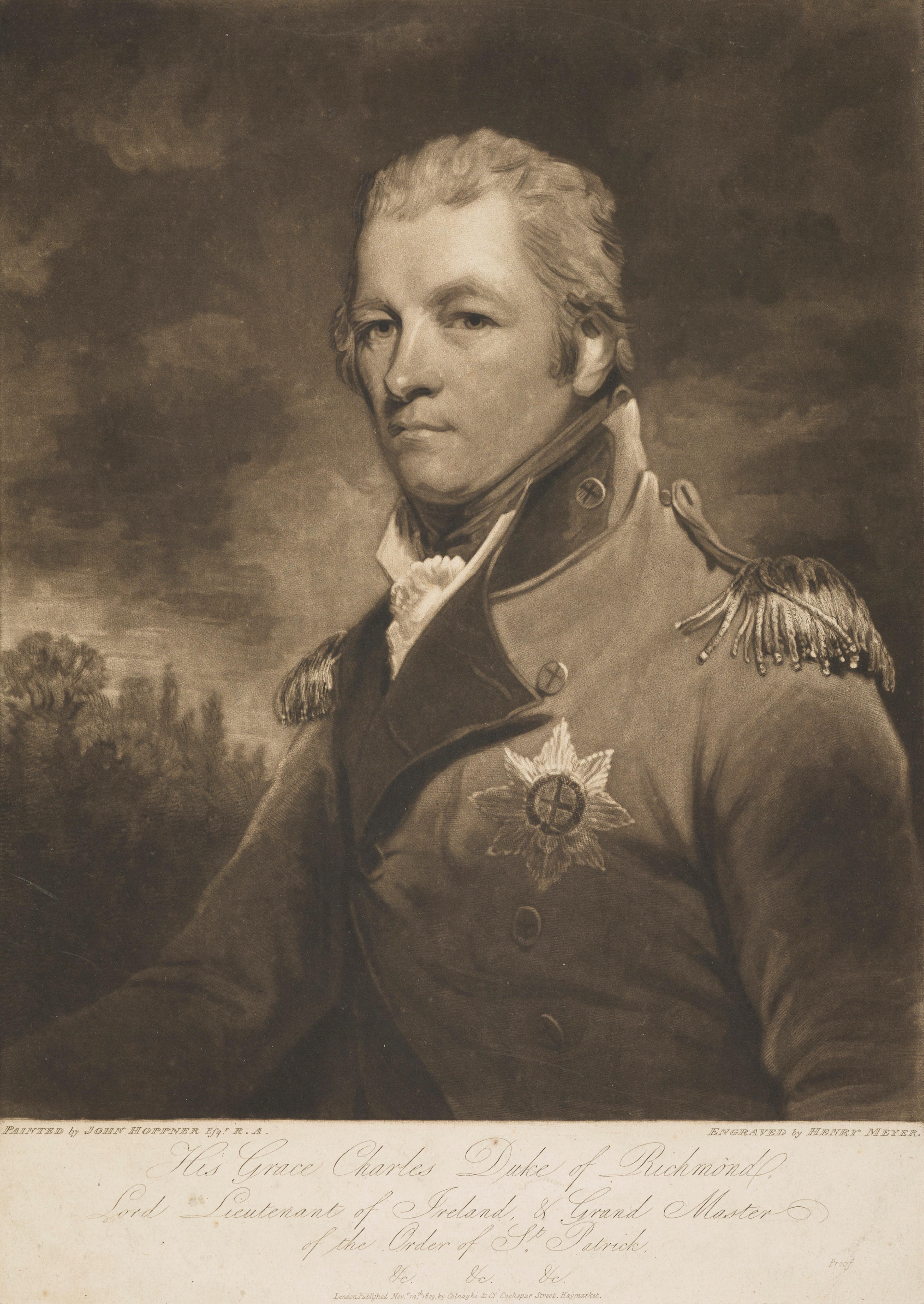 Charles Lennox, fourth duke of richmond