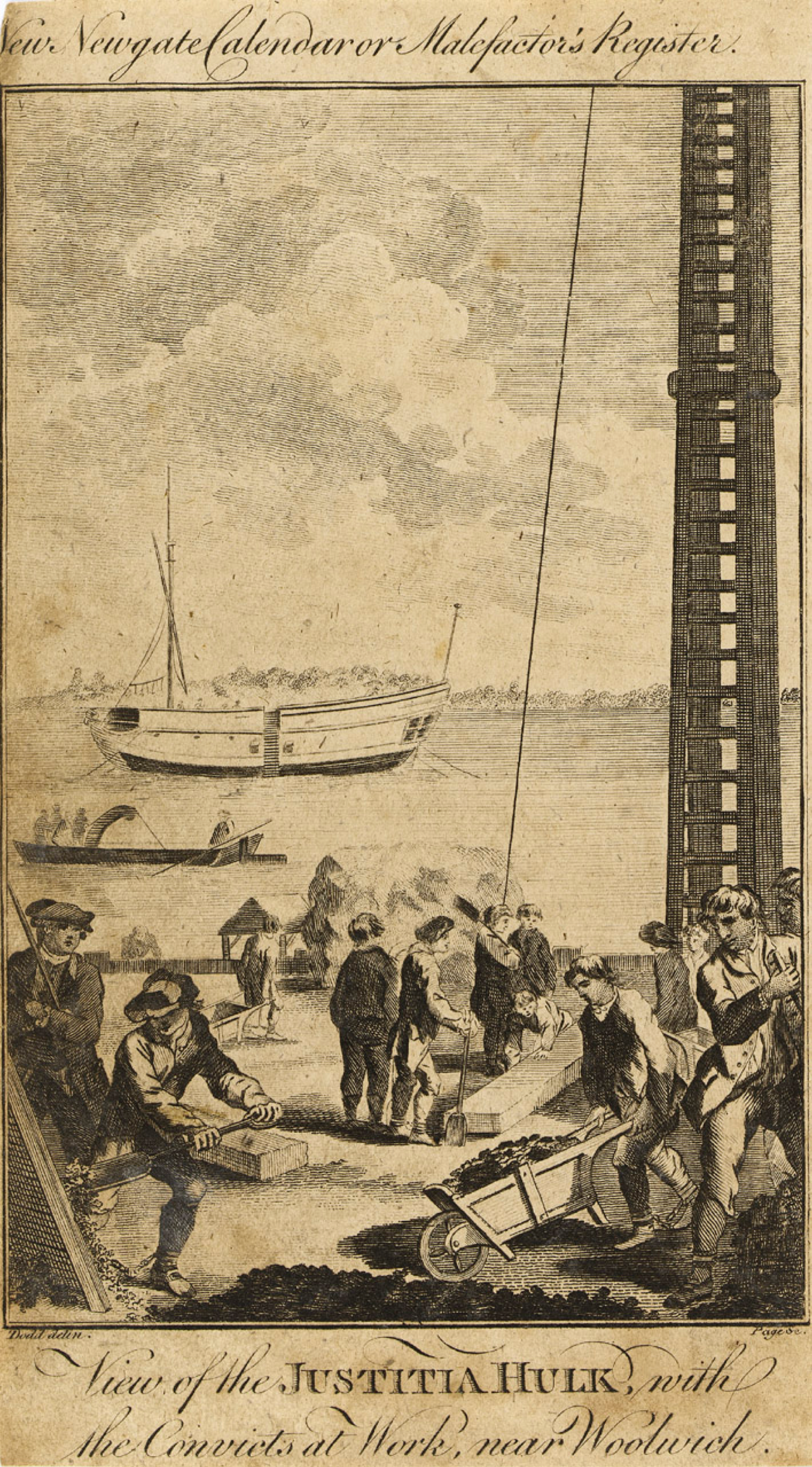 Convicts at Work near Woolwich