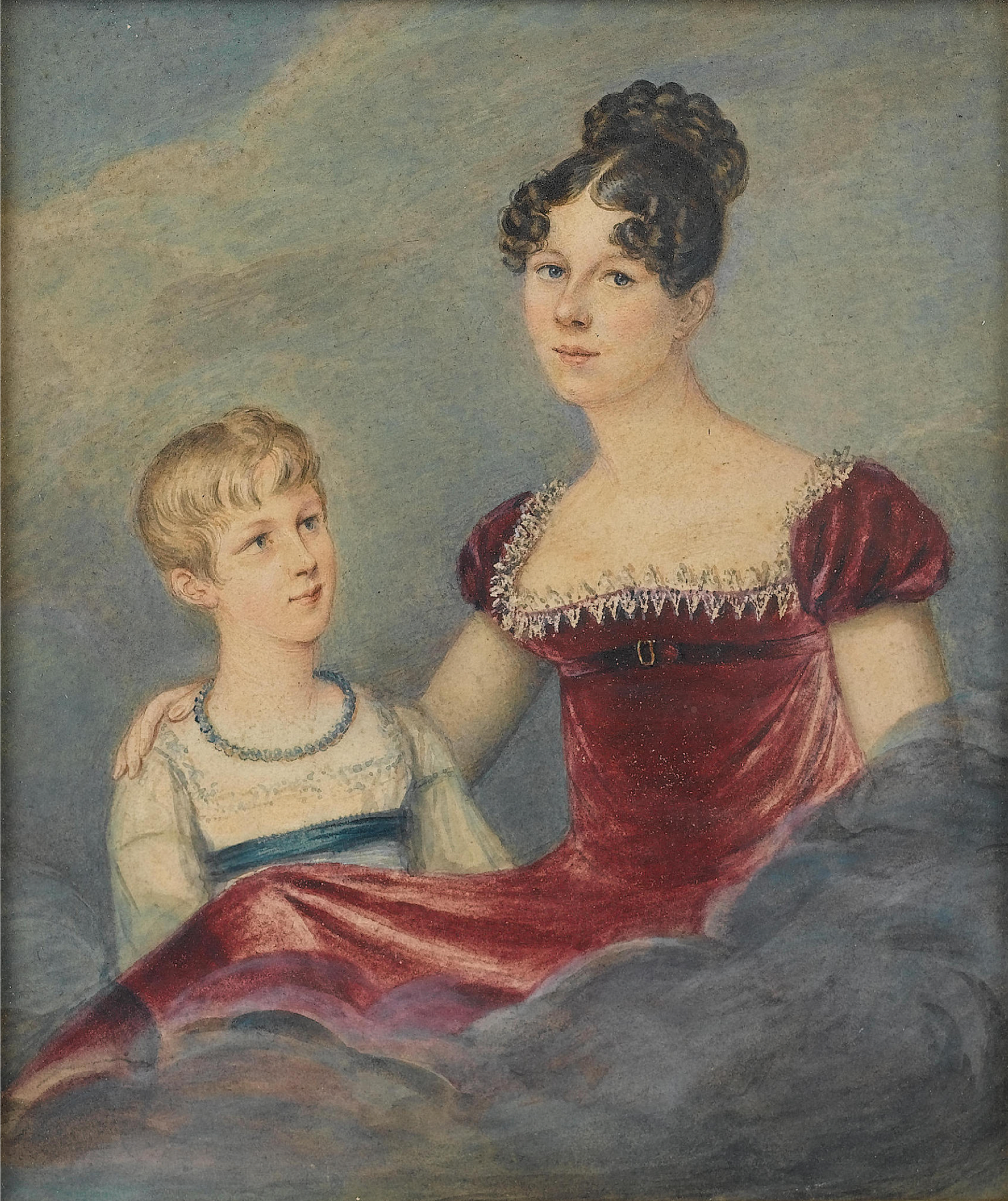 Lady Sophia Cecil and Lady Mary FitzRoy