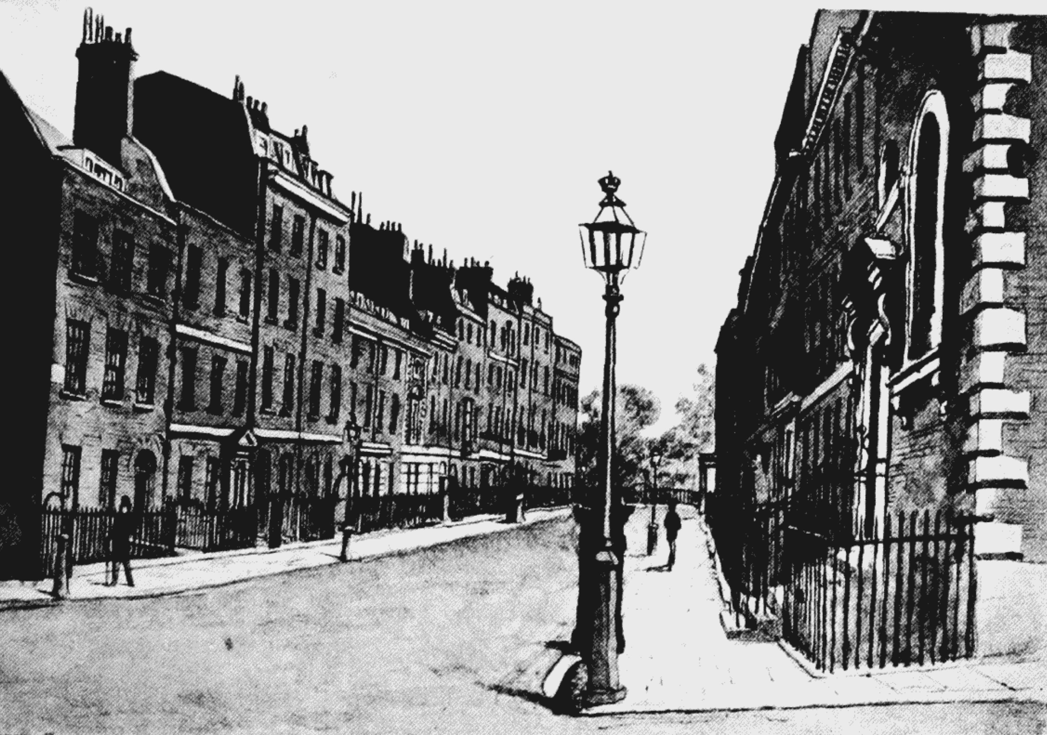 New Street, Spring Garden, 1881