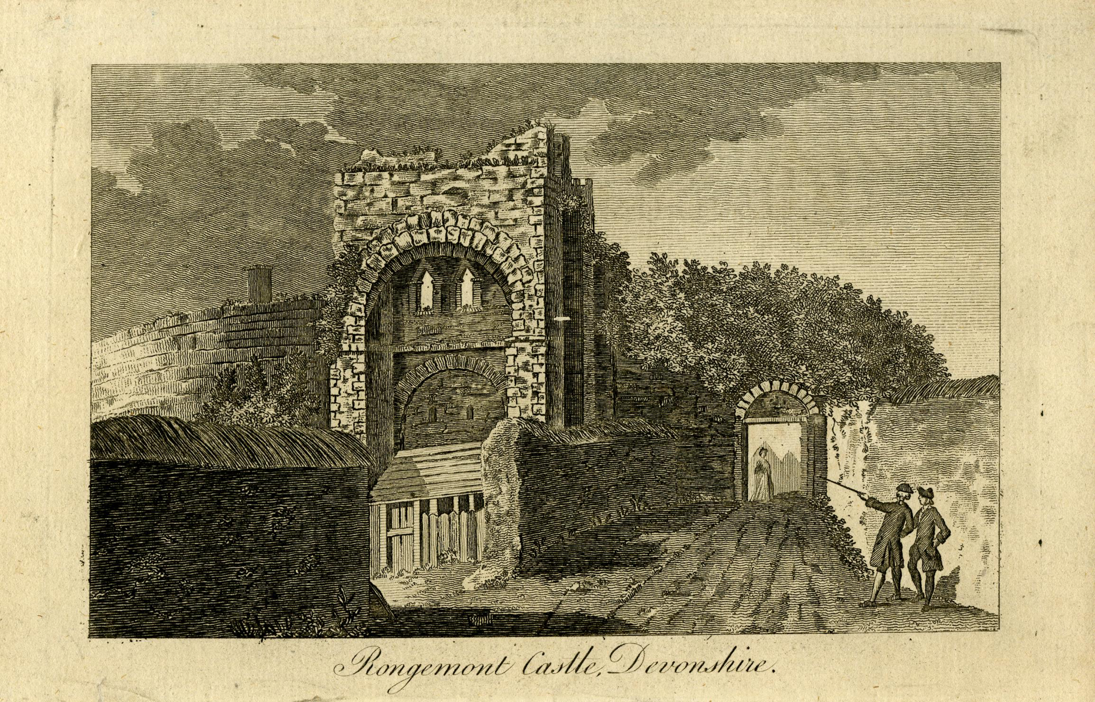 Rongemont Castle, Exeter