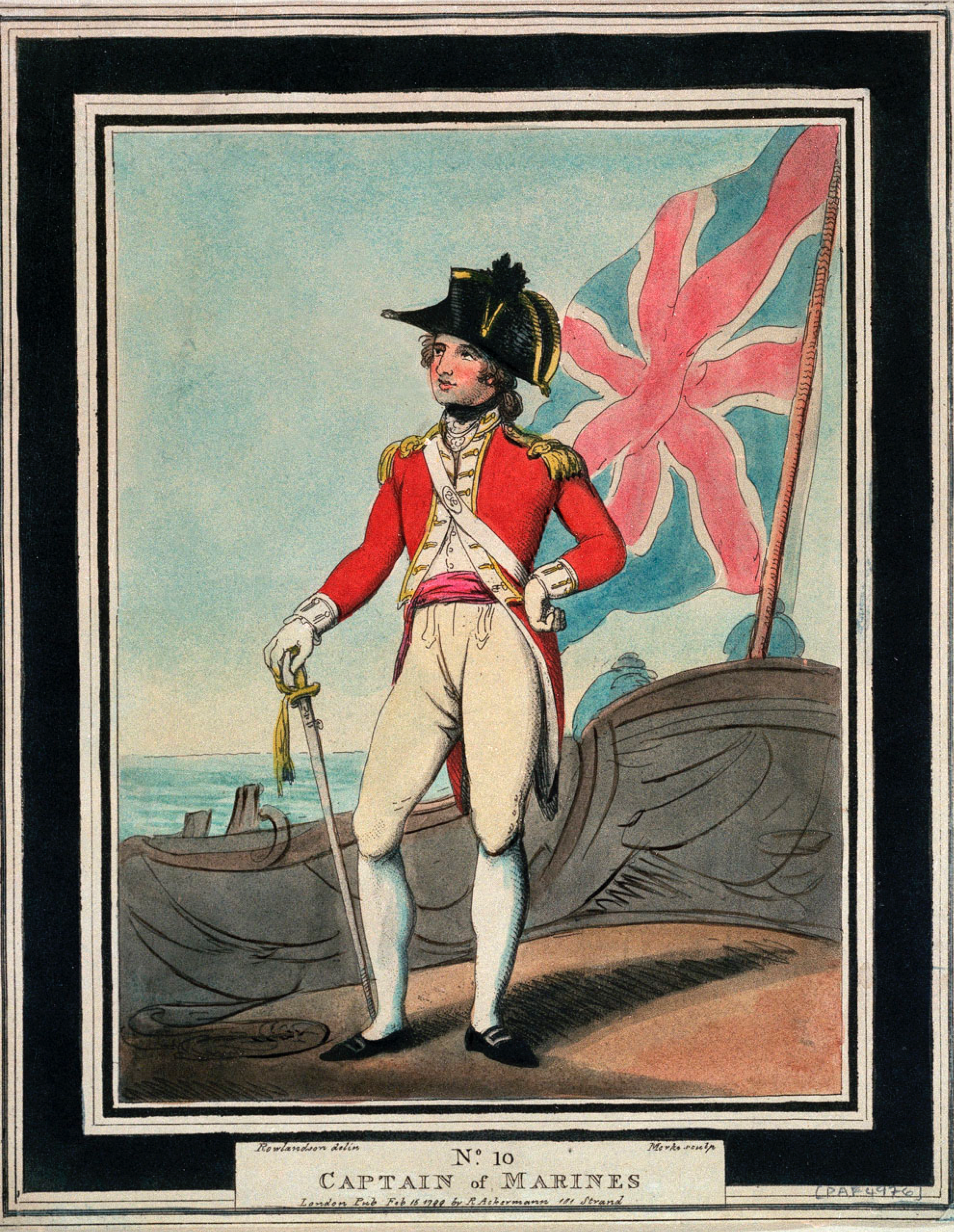 Royal Marines Captain (1799)