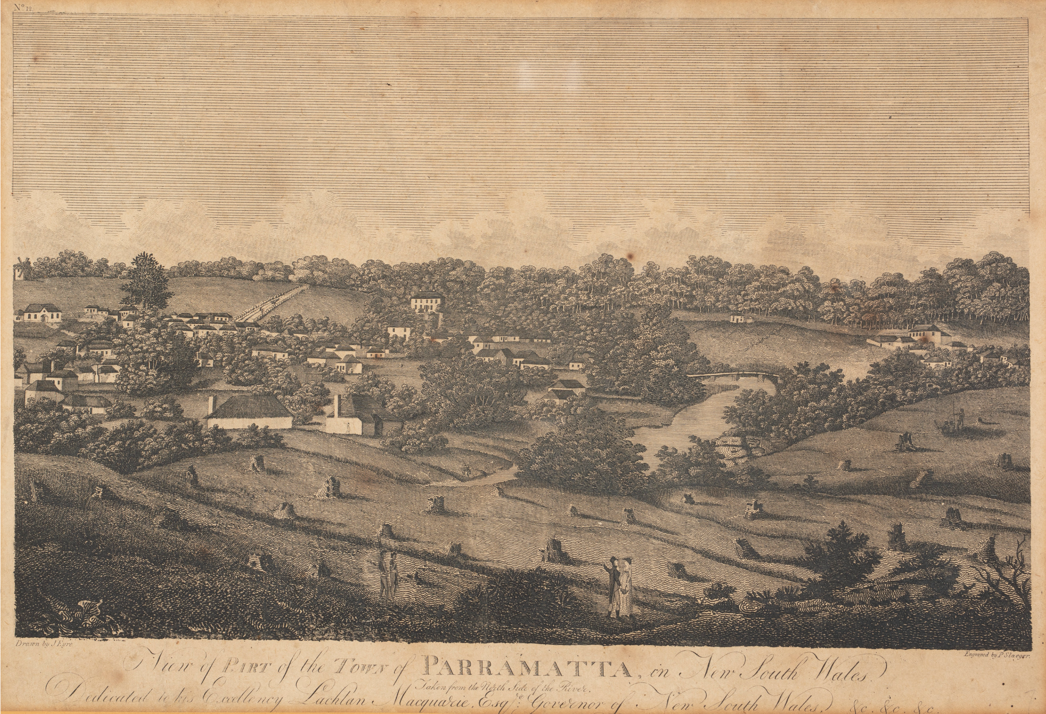 View of Part of the Town of Parramatta