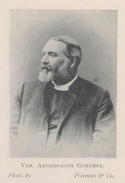Venerable Archdeacon Gunther